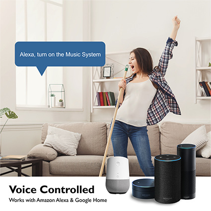 Alexa Smart Home Device | Google Smart Home Device | Voice Control Smart Device